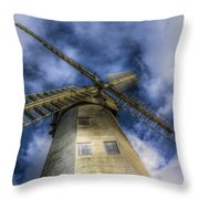 Upminster Windmill Essex Throw Pillow