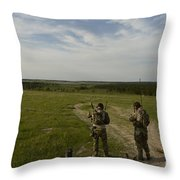 U.s. Air Force Combat Controllers Throw Pillow