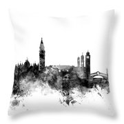 Venice Italy Skyline Throw Pillow