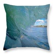 Venice Surf Throw Pillow