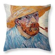 Vincent Van Gogh Throw Pillow