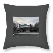 Warsaw, Poland  Throw Pillow