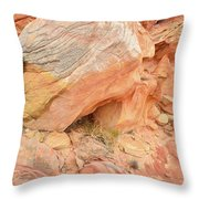 Wash 3 Color In Valley Of Fire Throw Pillow