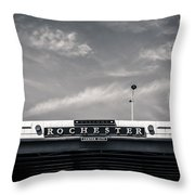 Welcome To Rochester City Center Throw Pillow