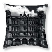 West Virginia State Penitentiary Throw Pillow