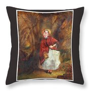 William Powell Frith Throw Pillow