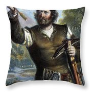 William Tell Throw Pillow by Granger