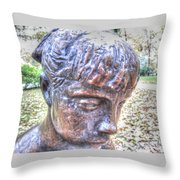 Yury Bashkin Look Throw Pillow