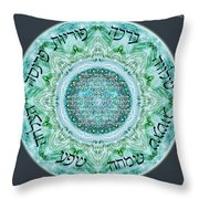 Home Blessing Throw Pillow