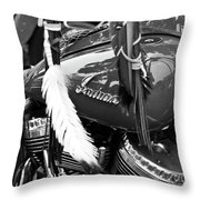 Motorcycle Throw Pillow