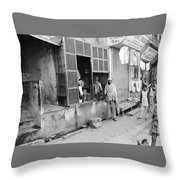 New Delhi India Throw Pillow