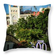 300 Years Of New Orleans Throw Pillow