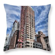 301 E 50th 1 Throw Pillow