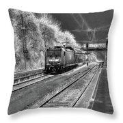 301 Ice Train Throw Pillow