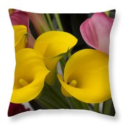 ,, Flowers ,, Throw Pillow