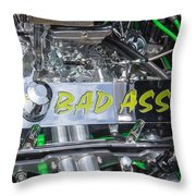 31 Ford Roadster Bad Ass Motor Throw Pillow