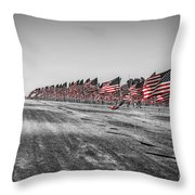 Pepperdine Flag Salute Throw Pillow