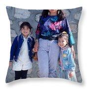 Cuidad Juarez Mexico Color From 1986-1995 Throw Pillow