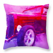 32 Highboy Watercolour Deuce On Acid Throw Pillow