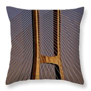 Lisbon Portugal Throw Pillow