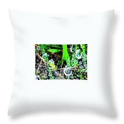 Summer Rams Throw Pillow