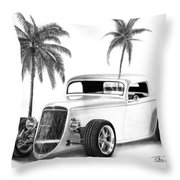 33 Ford Coupe Throw Pillow
