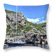 Hvar Croatia Throw Pillow