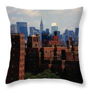 New York City Skyline 3 Throw Pillow