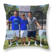 Play For Parkland  Throw Pillow