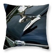 34 Buick - The Lady Can Fly Throw Pillow