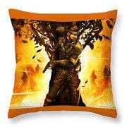 Metal Gear Throw Pillow