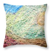 34 Throw Pillow
