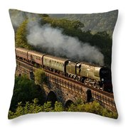 34067 Tangmere On Return. Throw Pillow