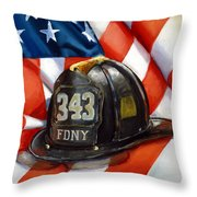 343 Throw Pillow