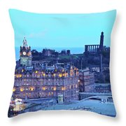 Edinburgh, Scotland Throw Pillow