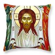Jesus Christ Catholic Art Throw Pillow