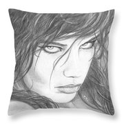 Pout  Throw Pillow