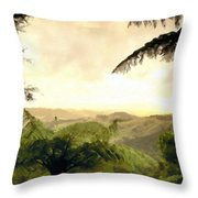 Picture Of Landscape Throw Pillow