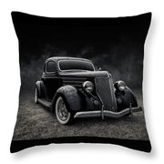 36 Ford Five Window Throw Pillow
