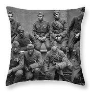 369th Infantry Regiment Throw Pillow