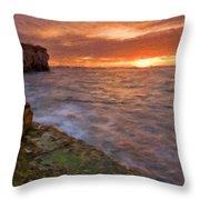 E-landscape Throw Pillow