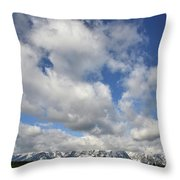 Grand Teton National Park Throw Pillow