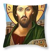 Jesus Christ Savior  Throw Pillow