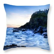 Landscape Show Throw Pillow