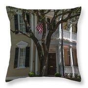 38 Meeting Street Throw Pillow