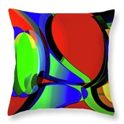 3d-curiosity Of Science Throw Pillow