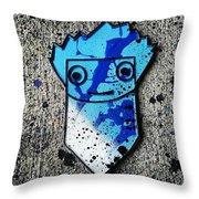 3d Goon Throw Pillow