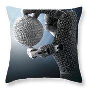 3d Printing Additive Robotic Hand Throw Pillow