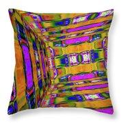 3d Unlimited Spectrum  Throw Pillow