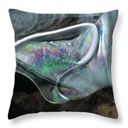 3.ice Prismatic 2, Slaley Quarry Throw Pillow